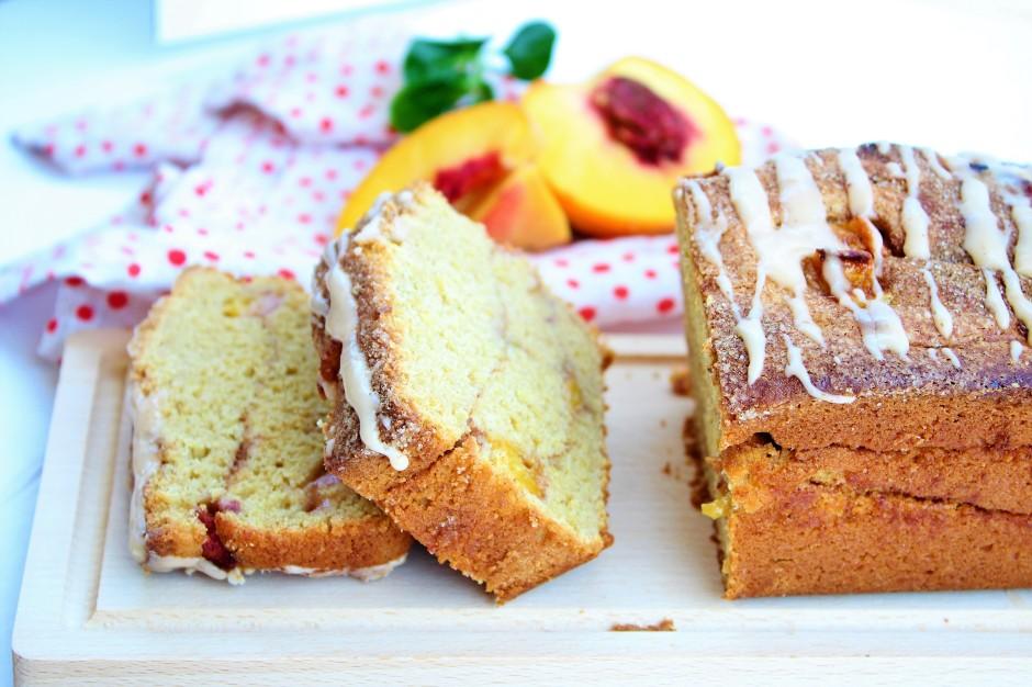 Gluten Free Peach Quick Bread - The Gluten Free Gathering