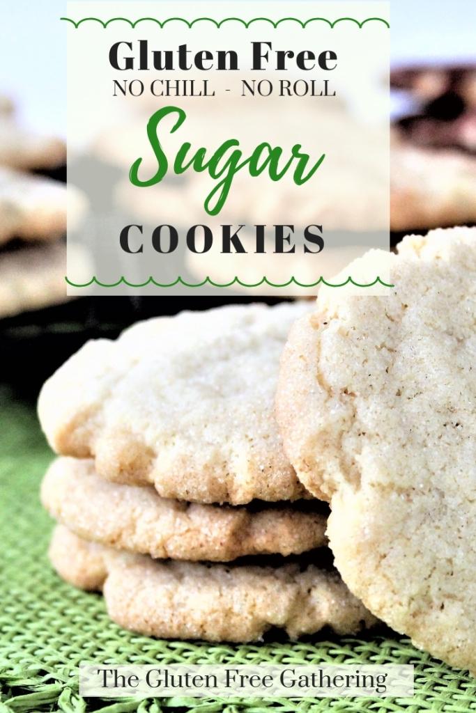 The Gluten Free Gathering - Gluten Free No Chill No Roll Sugar Cookies