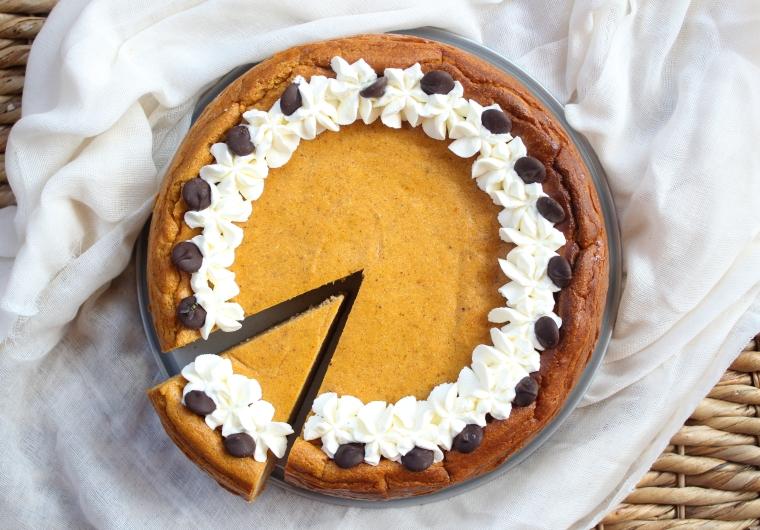 Gluten Free Pumpkin Cheesecake - The GLuten Free Gathering