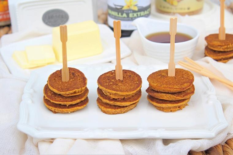 Gluten Free Pumpkin Silver Dollar Pancakes - The Gluten Free Gathering