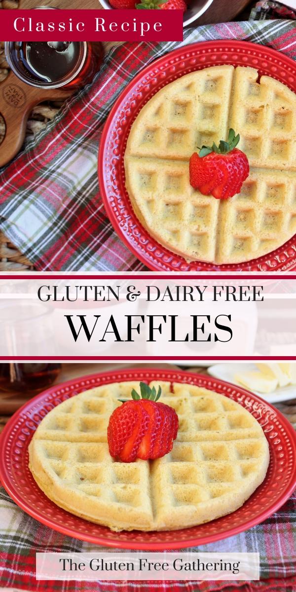 Gluten Free Waffles {Dairy Free} The Gluten Free Gathering