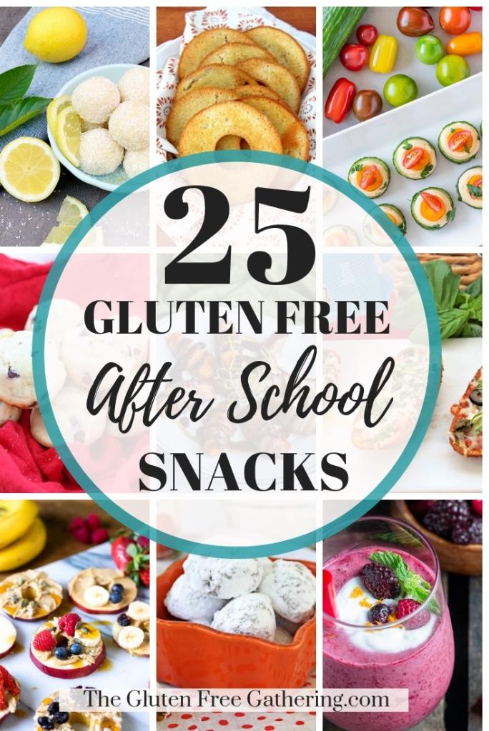 25 Gluten Free After School Snacks - The Gluten Free Gathering
