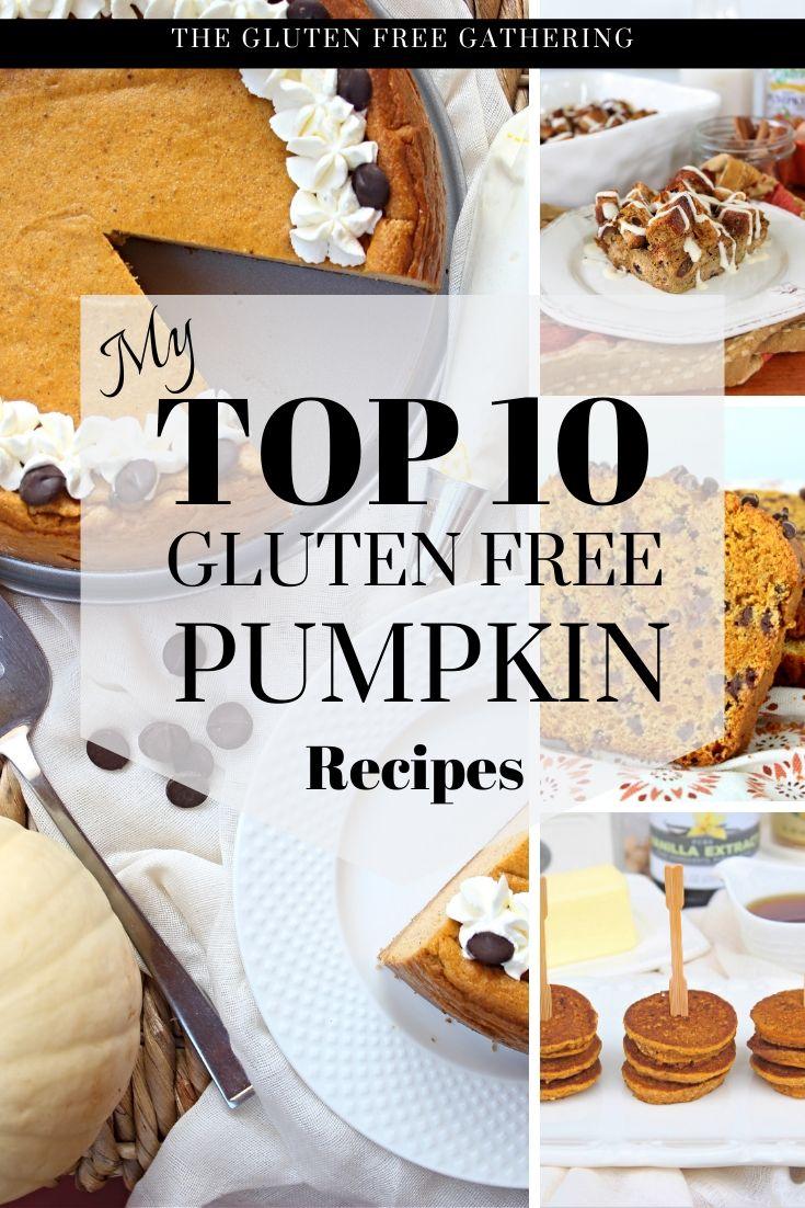 Top 10 Gluten Free Pumpkin Recipes