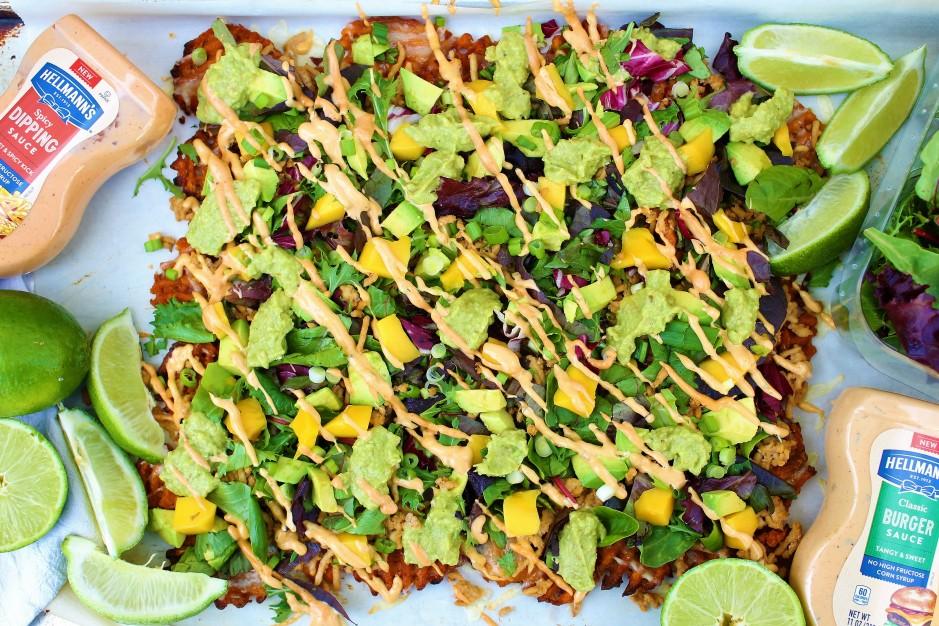 California Waffle Fry Nachos {Gluten Free}