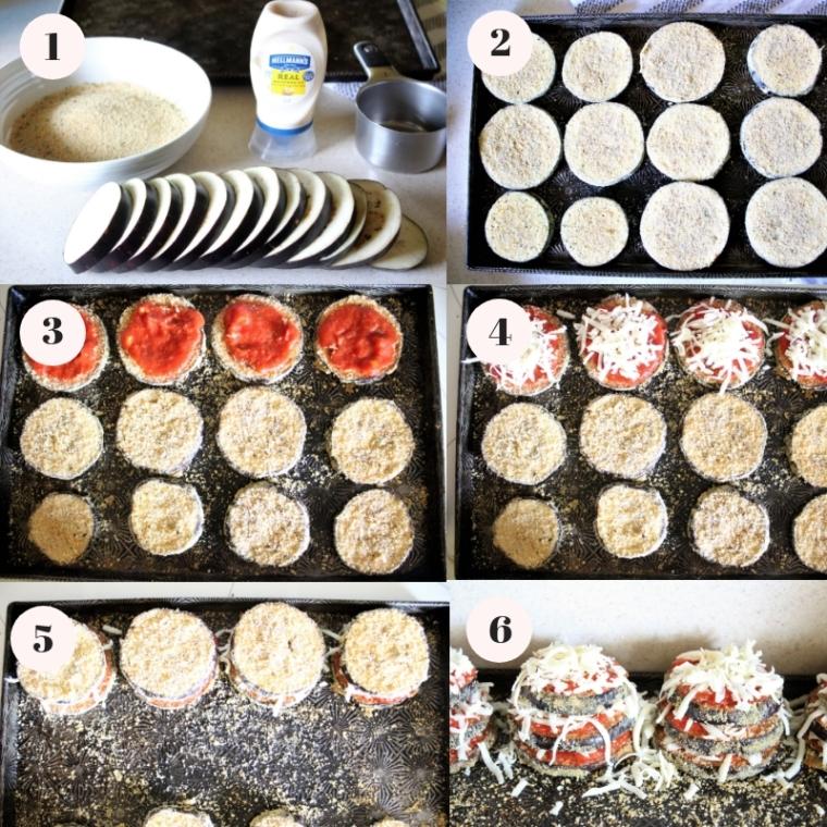 Gluten Free Baked Eggplant Parmesan Stacks - The Gluten Free Gathering